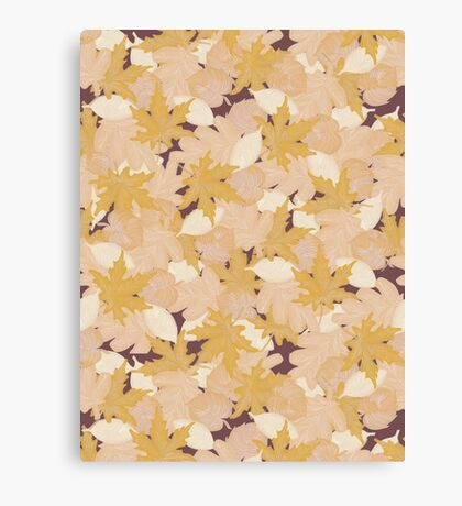 Muted Fall #redbubble #fall Canvas Print