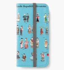 Heritage and tradition of Croatia iPhone Wallet/Case/Skin