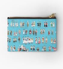 Heritage and tradition of Croatia Studio Pouch