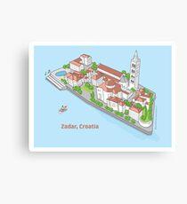 Zadar, my love! Canvas Print