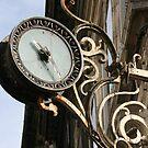 Old Town Clock by Pamela Jayne Smith