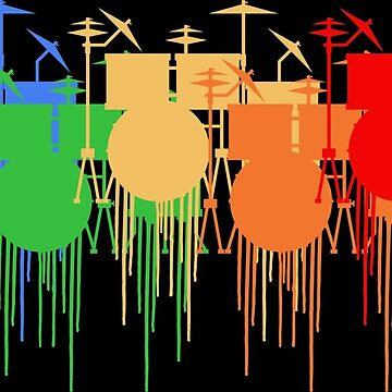 Colorful drums | Musical Instrument Musician Music by anziehend