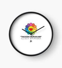 TAKASHI MURAKAMI FLOWER - Illicit Epiphany Clock