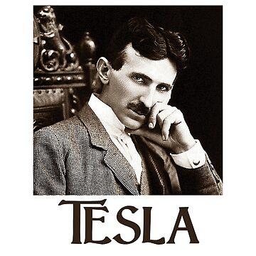 Nikola Tesla by Chunga