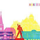 Montreux Skyline Pop von paulrommer