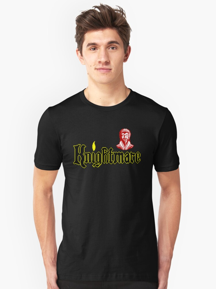 Gaming [ZX Spectrum] - Knightmare Unisex T-Shirt Front