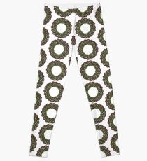 Celtic Knotwork Tree Wreath Leggings