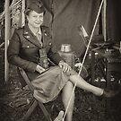 WW II Wac by Epazia Espino