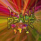 Teach Peace Globally by NadineMay