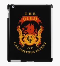 The Guild of Calamitous Intent - The Venture Brothers iPad Case/Skin