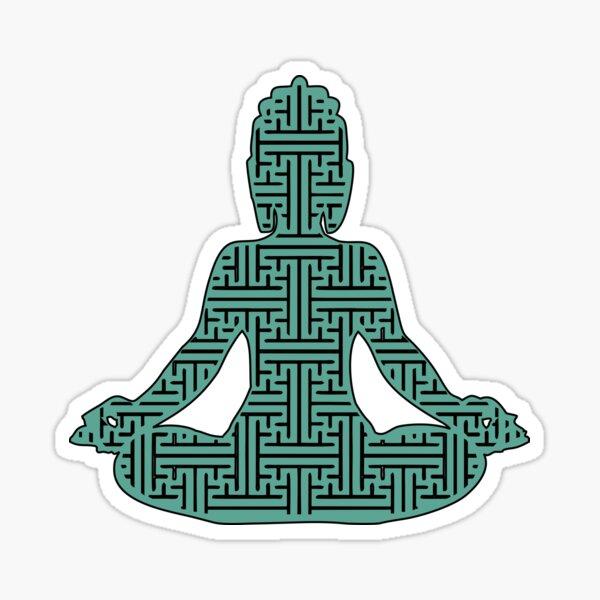 sayagata buddha Sticker