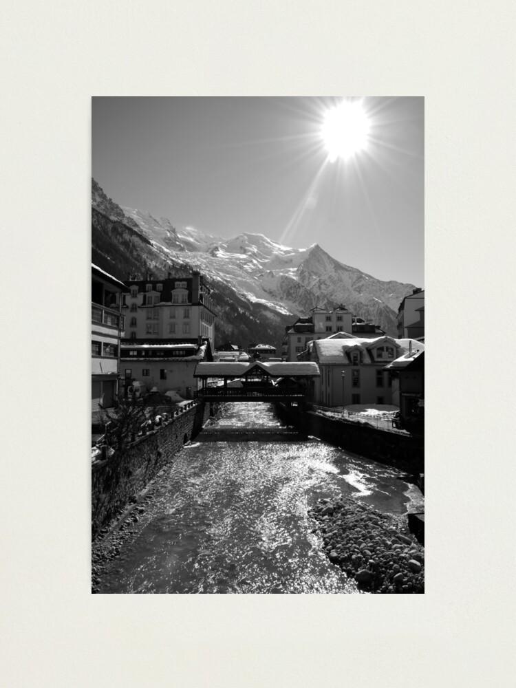 Alternate view of Chamonix Bridge Photographic Print