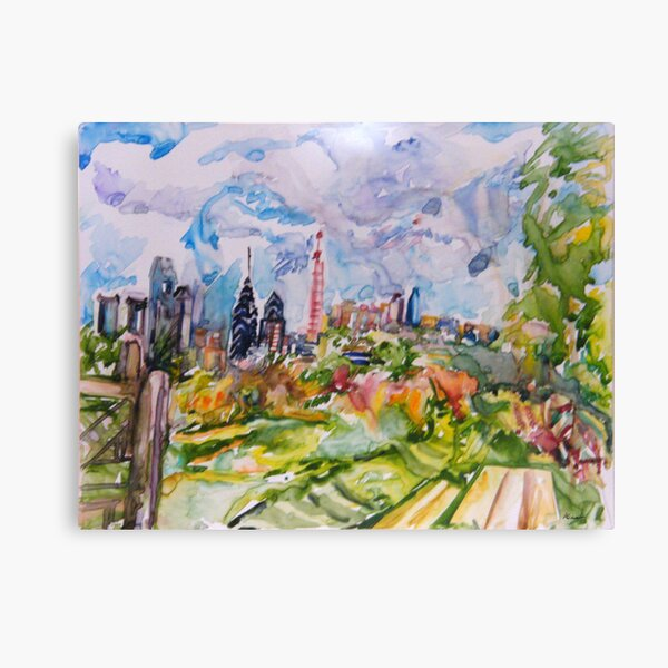 City View Canvas Print