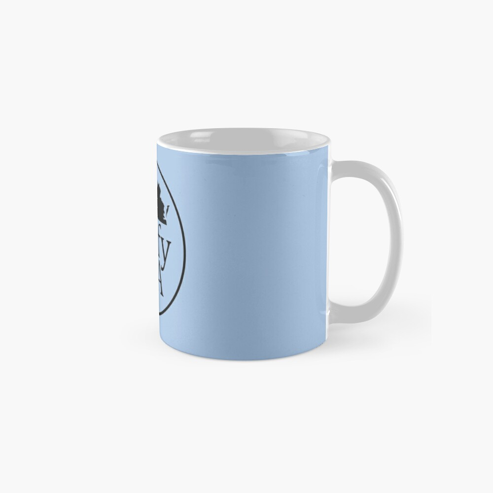 reversed black logo Mug