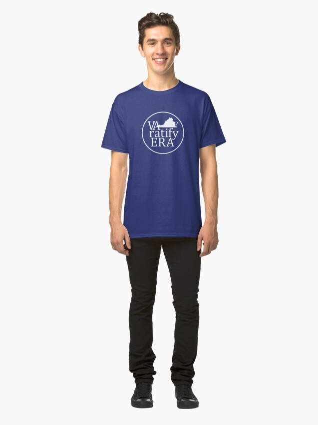 """Alternate view of looks blank but this is actually the """"white logo""""  Classic T-Shirt"""