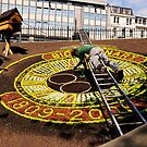 Edinburgh's floral clock. by Finbarr Reilly