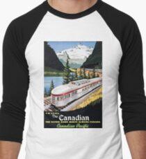 Camiseta ¾ estilo béisbol Viajar por el Pacífico canadiense / canadiense