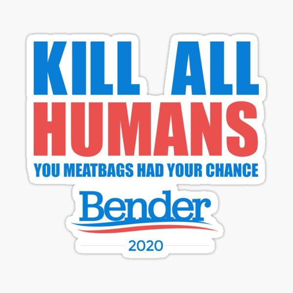 Futurama Bender 2020  Sticker