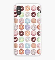 Hipster Donut Tiled Design iPhone Case/Skin