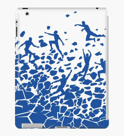 Break Free - White iPad Case/Skin