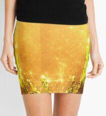 Magisches Rentier - Goldene Sonne Minirock