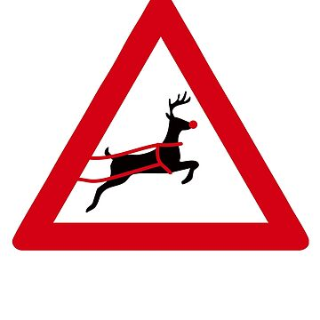 Christmas Reindeer by Pferdefreundin