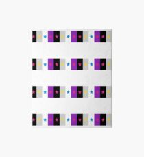 Panromantic Stars Asexual Flag Stripes Asexual T-Shirt Art Board