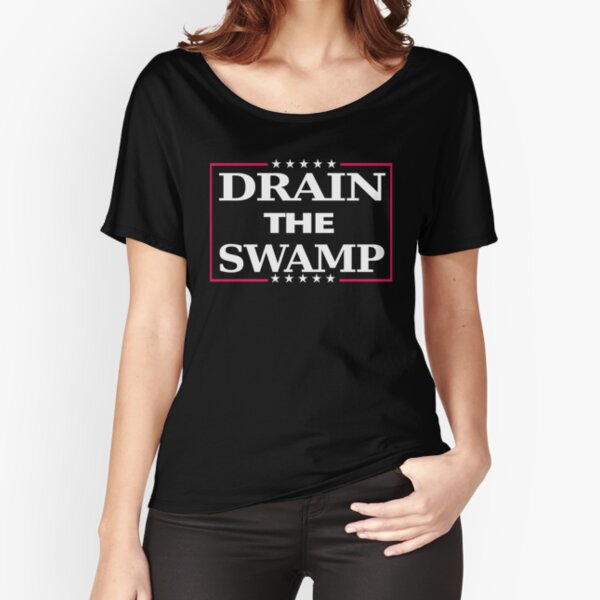 Drain the Swamp Relaxed Fit T-Shirt