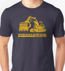 Excavator operator - A limited edition print now available Unisex T-Shirt