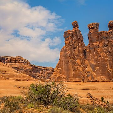 USA. Utah. Arches National Park. The Three Gossips. by vadim19