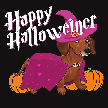 Happy Halloweenie from Doxie  by alenaz