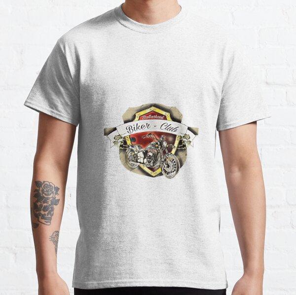 Motorcycle Brotherhood Biker T-Shirt Racer Design