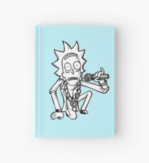 Rick Sanchez from Rick and Morty™ Getting Schwifty Hardcover Journal