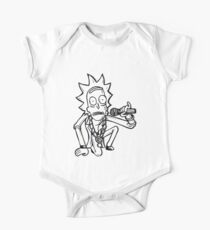 Rick Sanchez from Rick and Morty™ Getting Schwifty One Piece - Short Sleeve