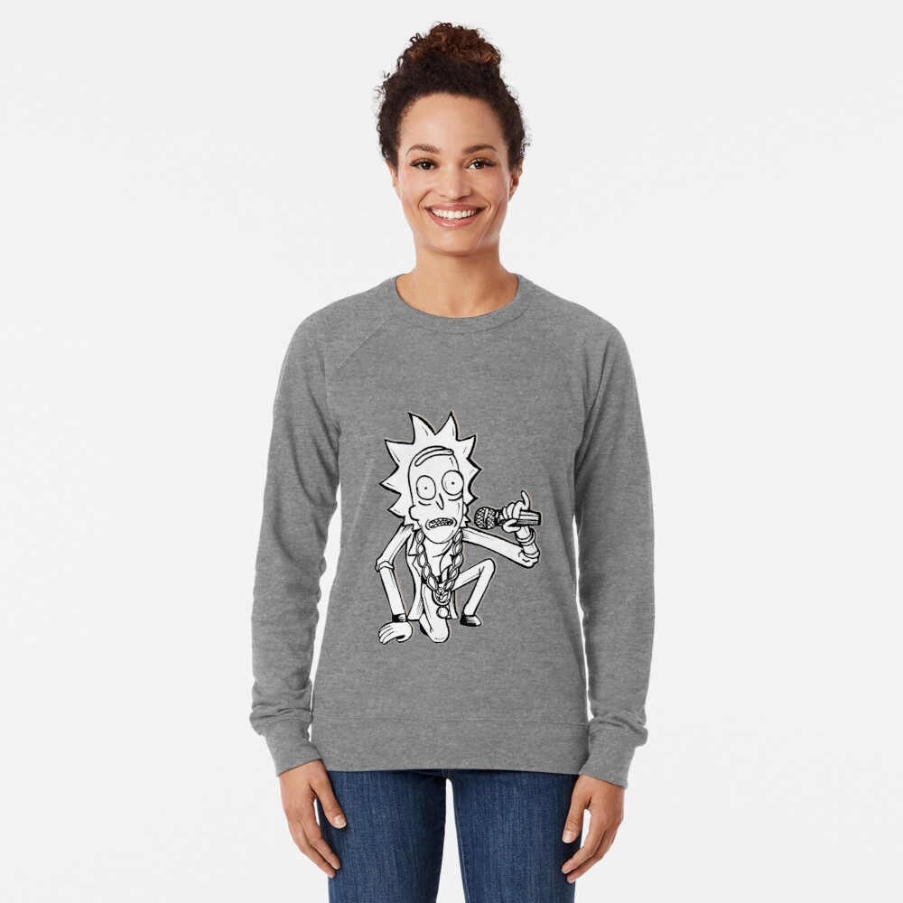 Rick Sanchez from Rick and Morty™ Getting Schwifty Lightweight Sweatshirt