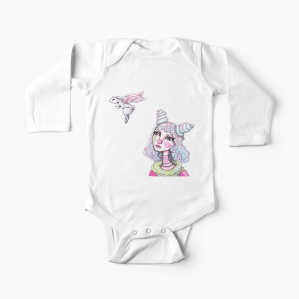 Sad Goodbye Long Sleeve Baby One-Piece