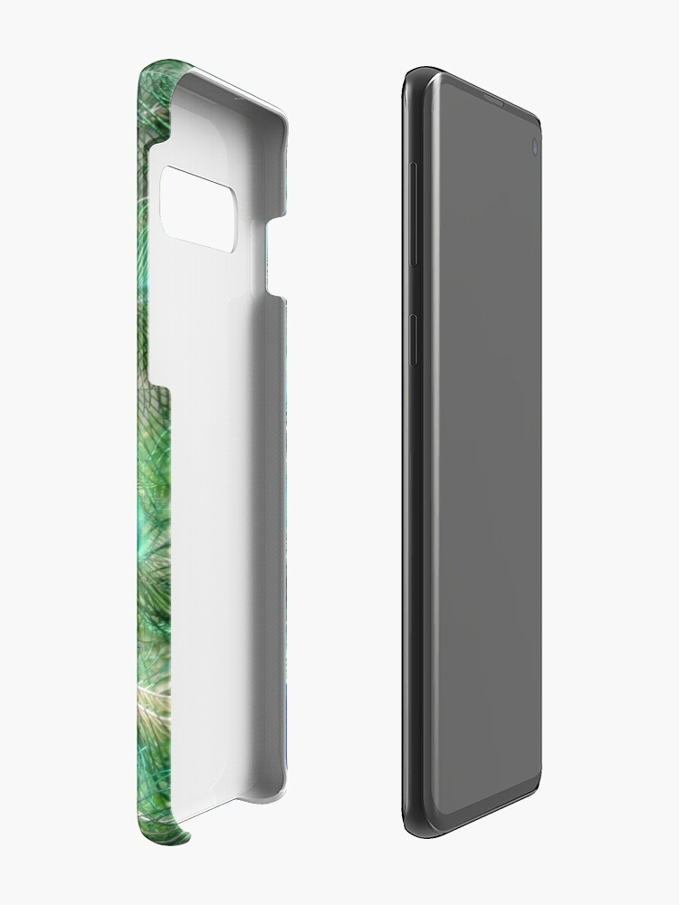 Alternate view of Peacock in bloom Case & Skin for Samsung Galaxy