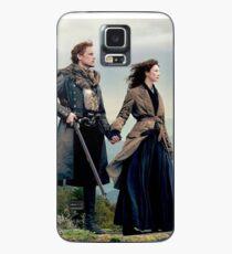 Funda/vinilo para Samsung Galaxy Outlander Diana Gabaldon temporada 4 Jamie y Claire