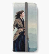 Outlander Diana Gabaldon season 4 Jamie and Claire  iPhone Wallet/Case/Skin