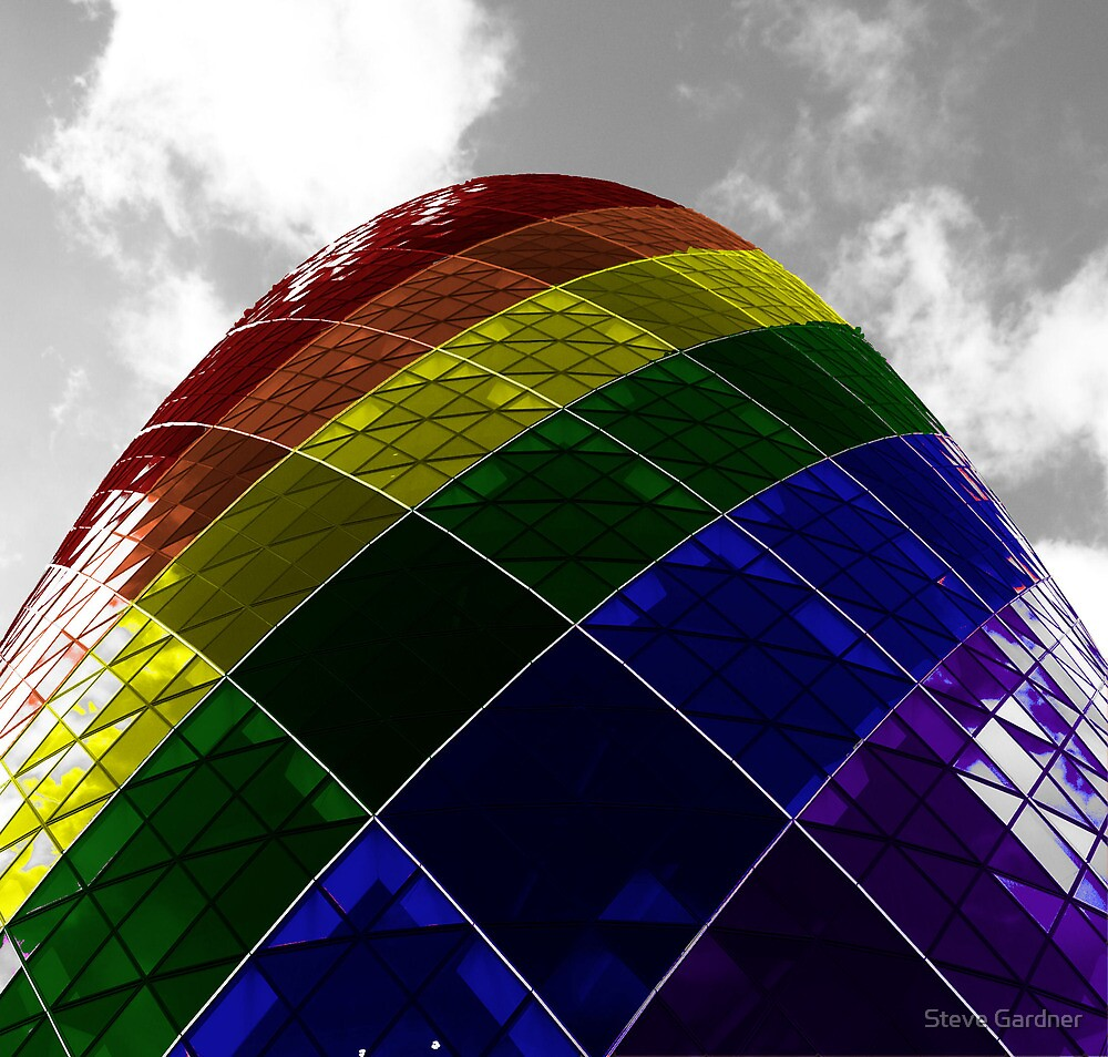 Gay Gherkin by Steve Gardner