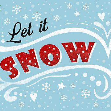 Let it snow - Vintage Christmas by ValentinaHramov