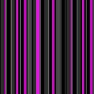 Grey pink stripes vertical by Anteia