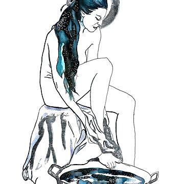 Nyx; Void Bathing by DReneeWilson