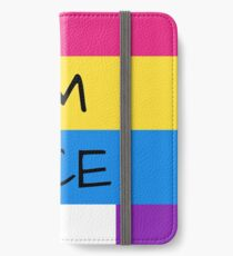 Panromantic Flag Asexual Flag Asexual I'm Ace T-Shirt iPhone Wallet/Case/Skin