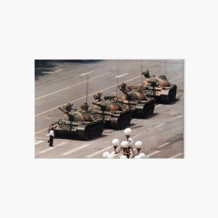 Tank Man, Tiananmen Square Art Board Print