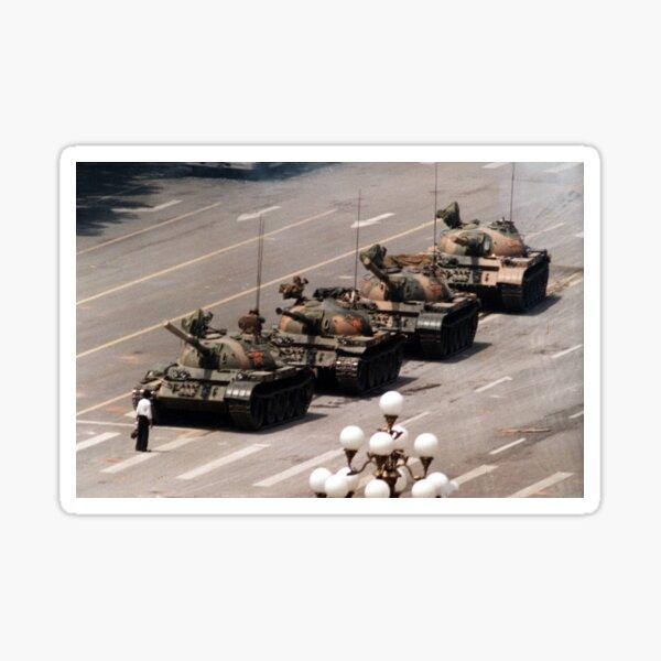 Tank Man, Tiananmen Square Sticker