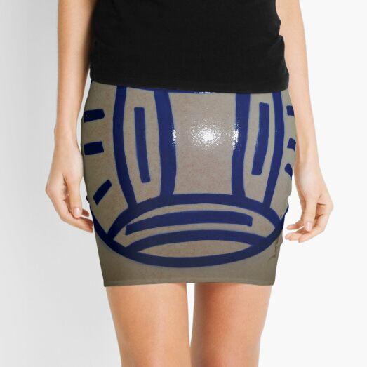 #circle #znamensk #text #logo sign label colorimage typescript oldfashioned retrostyle Mini Skirt