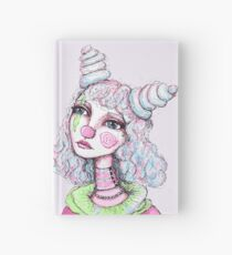 Sad Clown Girl Hardcover Journal
