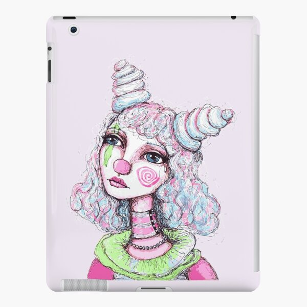 Sad Clown Girl iPad Snap Case
