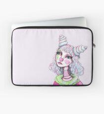 Sad Clown Girl Laptop Sleeve